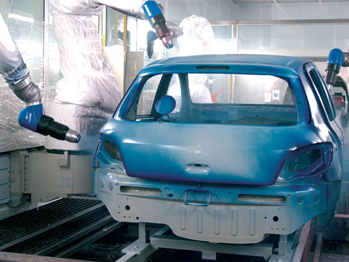 5 Benefits of Using Waterborne Paint for Automotive Coating