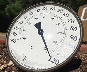 Image of a thermometer.