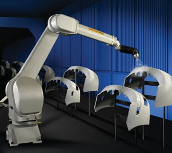 The State of Industrial Robotic Painting in 2018